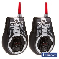 INTERCOMUNICADORES S/ FIOS 2KM STAR WARS LEXIBOOK