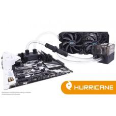 Alphacool Eissturm Hurricane Copper 45 2x140mm - Komplettset