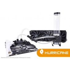 Alphacool Eissturm Hurricane Copper 45 3x140mm - complete kit