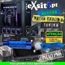 PERSONALIZAÇÃO PC GAMING WATERCOOLING MODDING