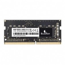 4GB DDR3 1600 MEMORIA SO-DIMM (1X4GB) CL11 BLUERAY
