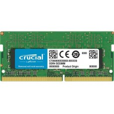 8GB DDR4 2666 MEMORIA SO-DIMM (1X8GB) CL16 CRUCIAL SR