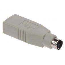 ADAPTADOR VELLEMAN CW088 PS2 MACHO USB A FÊMEA