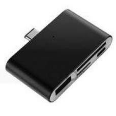 CARD READER EXTERNO HQ HUB TYPE-C 4K