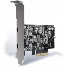 CONTROLADOR PCIE X4 2P EXT USB-C 3.2 GEN2 (10GBPS)