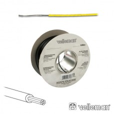 CABO MULTIFILAR VELLEMAN MOWY AMARELO AWG24 100M