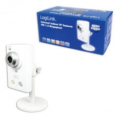 CÂMARA IP INDOOR 1.3MP PUSH VÍDEO LOGILINK WC0022